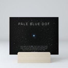 Carl Sagan's Pale Blue Dot Mini Art Print