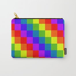 Playful Rainbow Carry-All Pouch