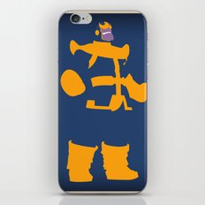 The Overmaster (Thanos) iPhone & iPod Skin