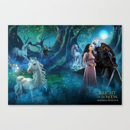 Bright of the Moon Canvas Print