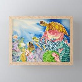 The Sea Horse's Lament Framed Mini Art Print