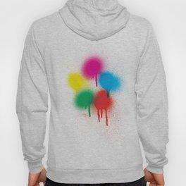 THEE Spray Paint Colour Wheel Hoody
