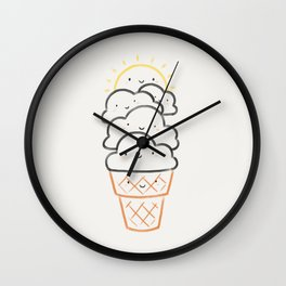 Everyday is like Sundae Wall Clock