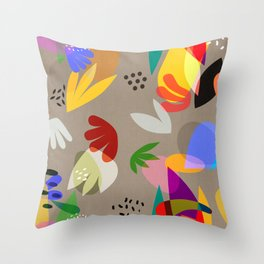 MATISSE CUTOUTS Throw Pillow