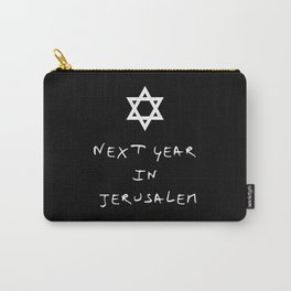 Next year in Jerusalem 5 Carry-All Pouch