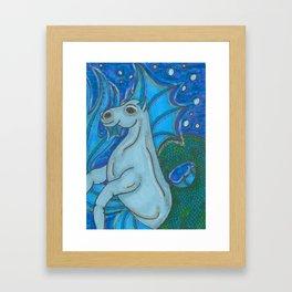 Waterhorse Framed Art Print