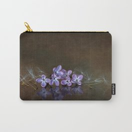 Lilac blossoms Carry-All Pouch