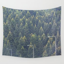 Forest autumn greece Wall Tapestry
