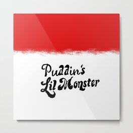 Puddin's monster Metal Print