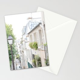 Charming Montmartre Paris Stationery Cards