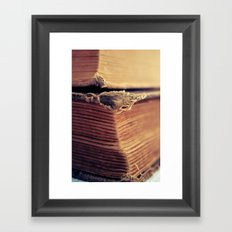 Reading Corner Framed Art Print