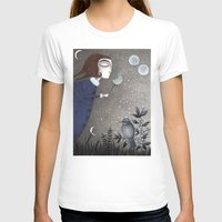 twilight T-shirts featuring Winter Twilight by Judith Clay