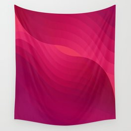 Pinky babe - geometric abstract Wall Tapestry