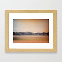 still motion Framed Art Print