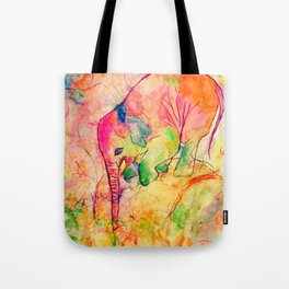 Nellie the elephant-1 Tote Bag