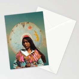 Honor the Indigenous Stationery Cards