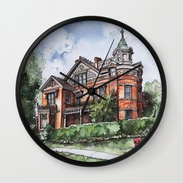 Armstrong Mansion Wall Clock