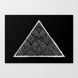 Root Two Triangle  Canvas Print
