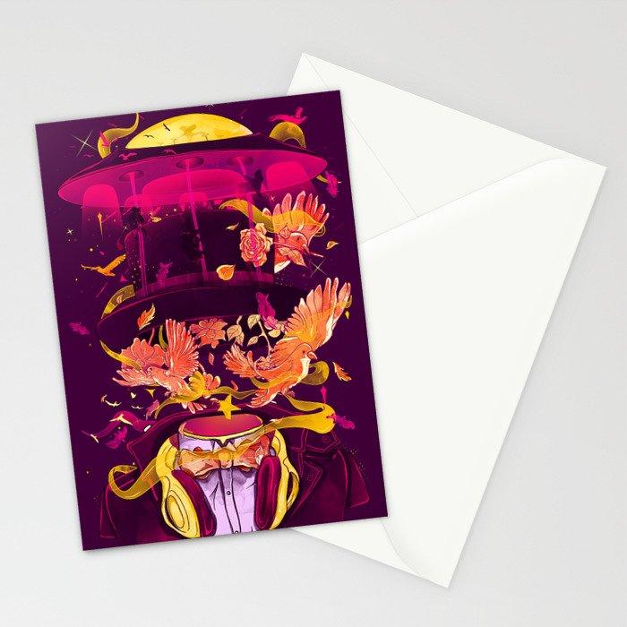 Magic Tricks Stationery Cards