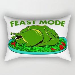 Feast Mode Thanksgiving Rectangular Pillow