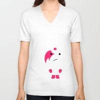 muppet V-neck T-shirts featuring modern muppet : idokungfoo.com by simon oxley idokungfoo.com