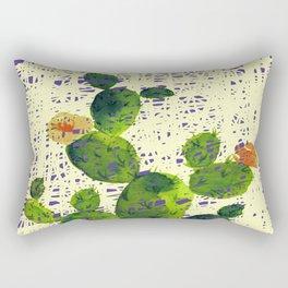 weird cactus Rectangular Pillow
