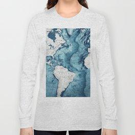 Abstract Design #80 Long Sleeve T-shirt