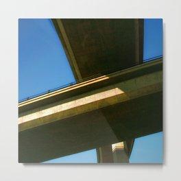 Freeway Overpass II Metal Print