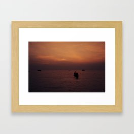 FEELIN' EXSANGUINATED Framed Art Print