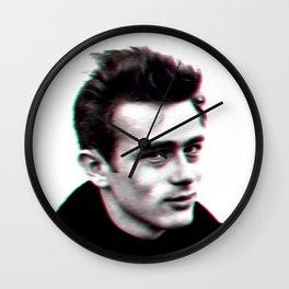 JAMES D 3D Wall Clock