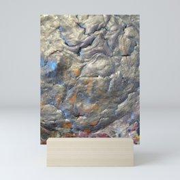 Rock Face Mini Art Print