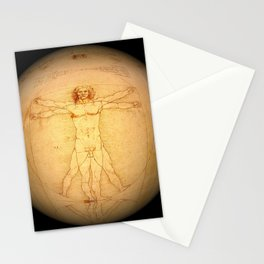 Vitruvian Man Stationery Cards