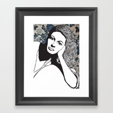 Frances Farmer Framed Art Print