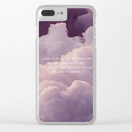 Alice Walker Collection V1 Clear iPhone Case