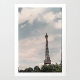 Sunday Morning in Paris  Art Print