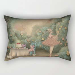 Flowers for the Table Rectangular Pillow
