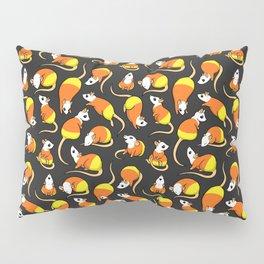 Candy Corn Rats Pillow Sham