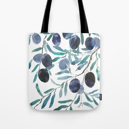 black olive watercolor 2018 Tote Bag