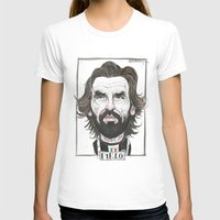 pirlo T-shirts featuring ANDREA PIRLO by BANDY