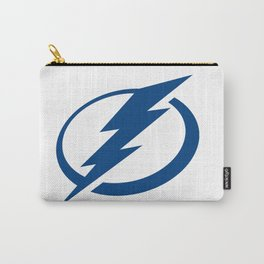 Tampa Bay Lightnin Logo Carry-All Pouch