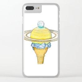 Saturn Clear iPhone Case