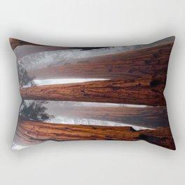 Tall Redwood Trees Rectangular Pillow