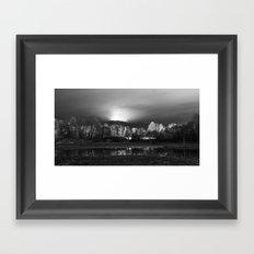 Mystical Forest Framed Art Print