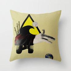 Modern Times Creature 7 Throw Pillow
