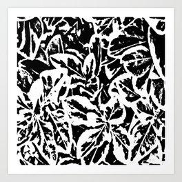 Leaf Me Alone Art Print
