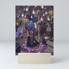 Modern Male Witch: Attic Mini Art Print