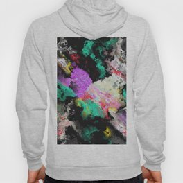 Black background texture Hoody