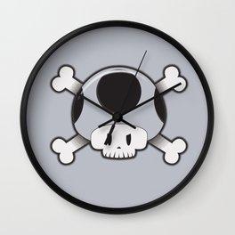 Toad Skull Wall Clock