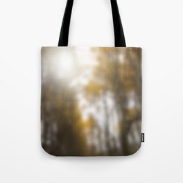 The forest blessed with rain Tote Bag