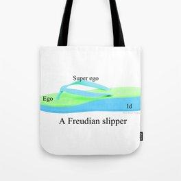 Freudian Slipper Tote Bag
